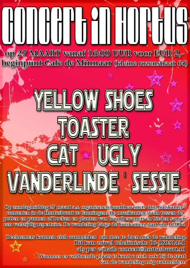 Concert in Hortus poster